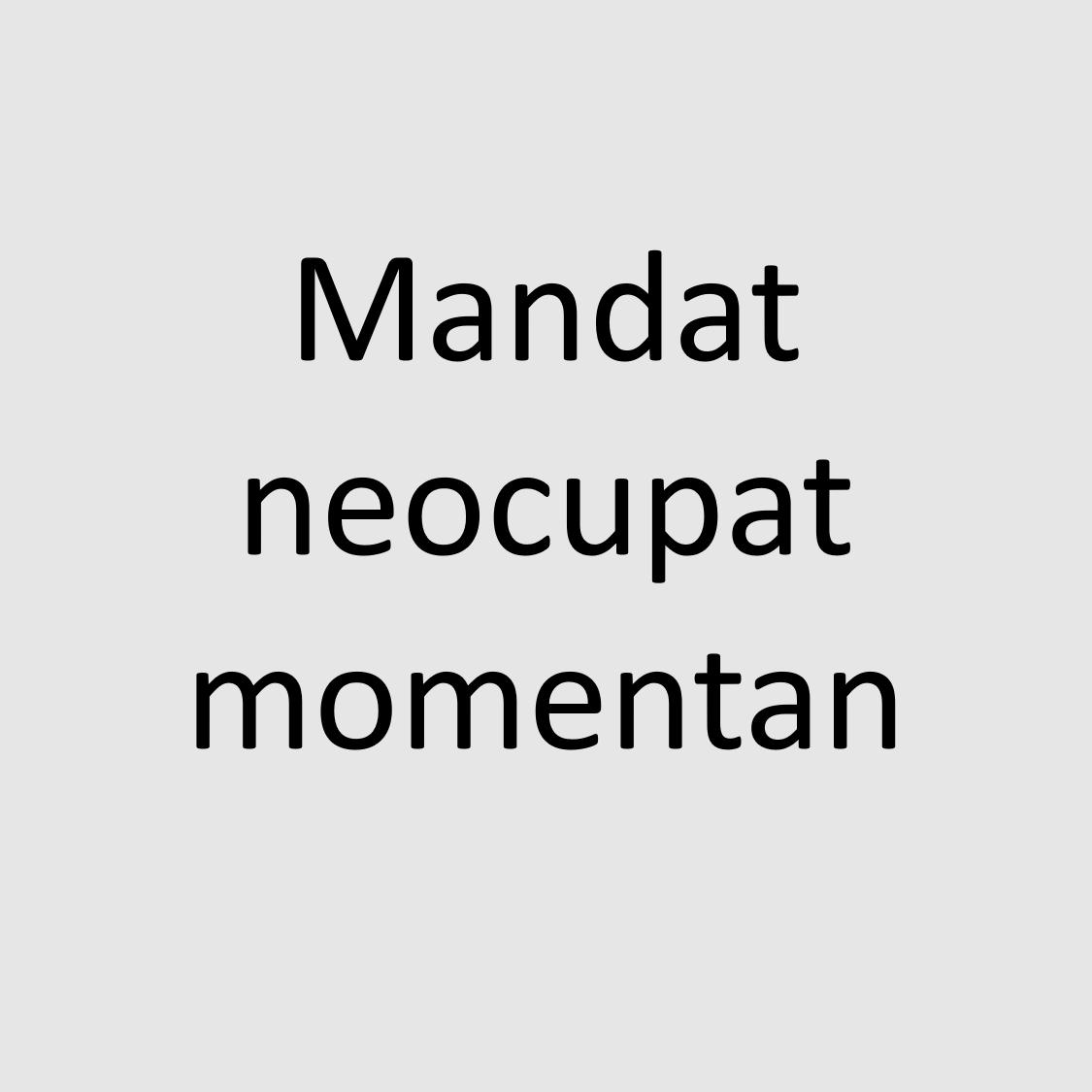 Mandat neocupat