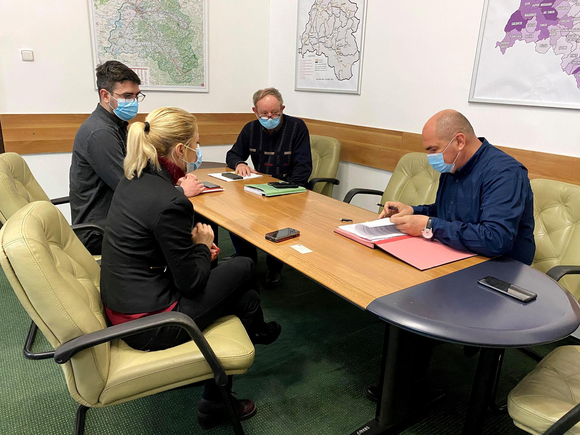A fost semnat contractul pentru proiectarea centurilor din Zona Metropolitană a Oradei