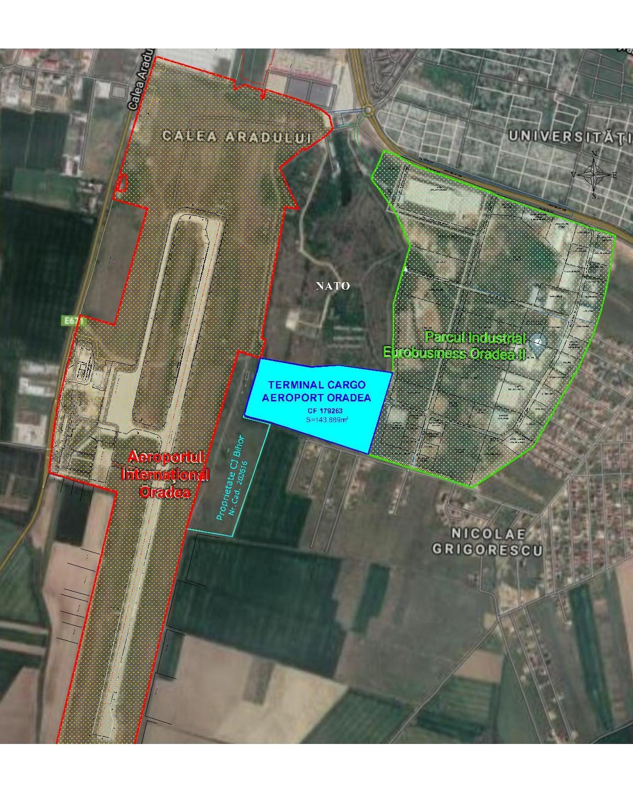 Prezentare Plan situatie TERMINAL CARGO ORADEA rotated