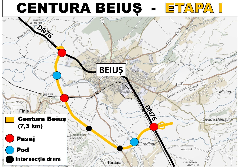 Au fost aprobați indicatorii tehnico – economici pentru realizarea Centurii Beiuș